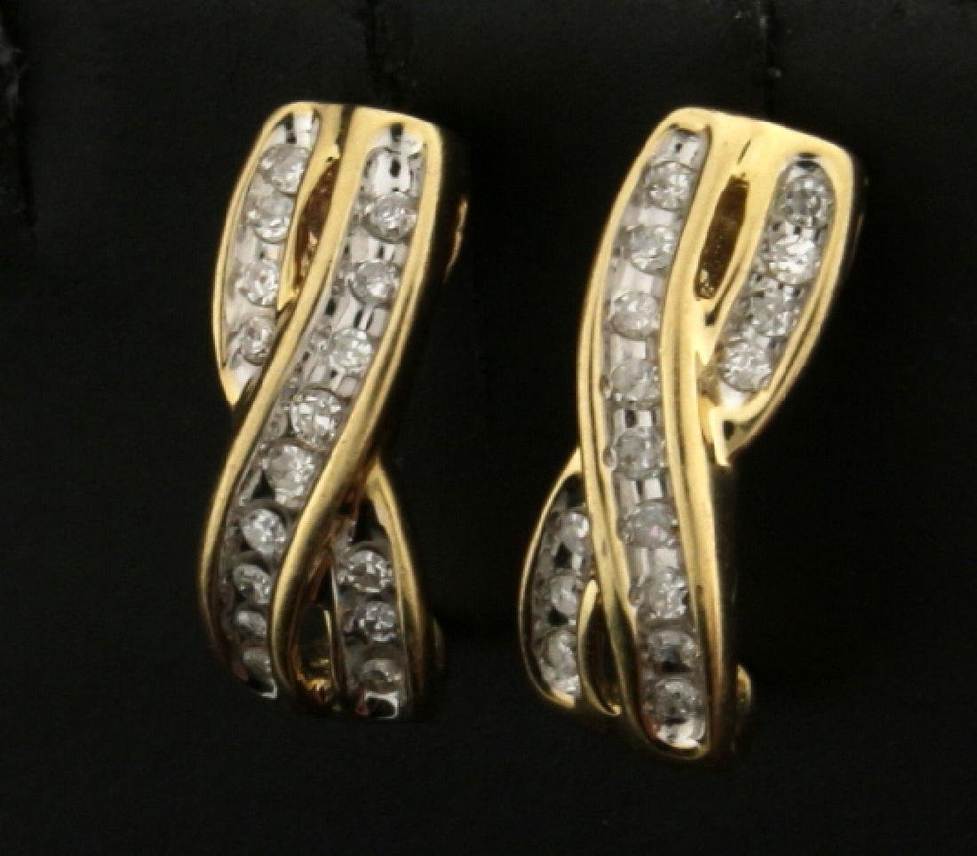 1/3ct TW Diamond Earrings - 2