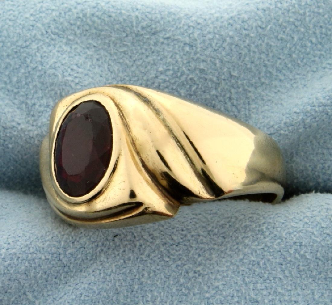 3ct Natural Ruby Ring - 2