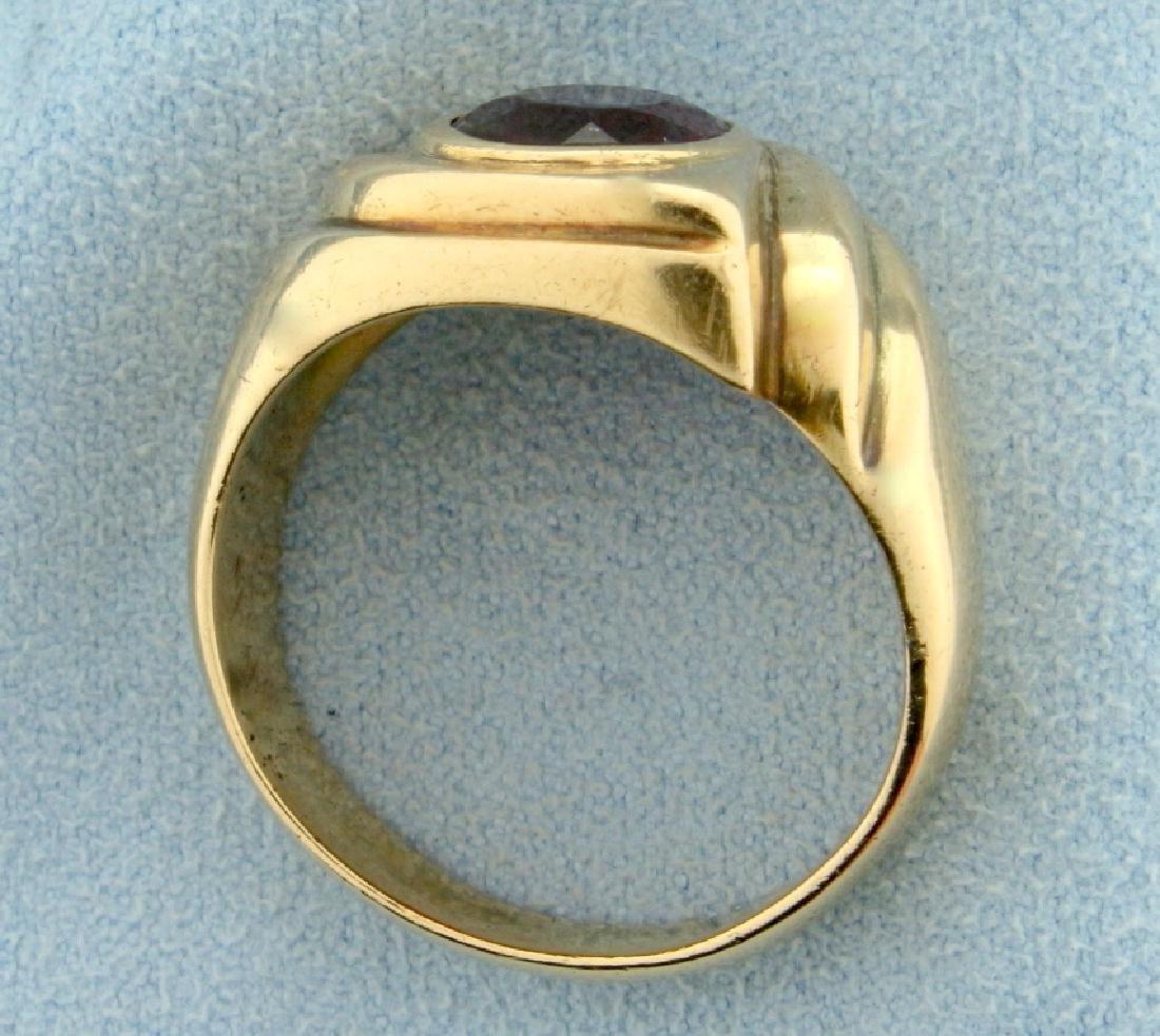 3ct Natural Ruby Ring - 3
