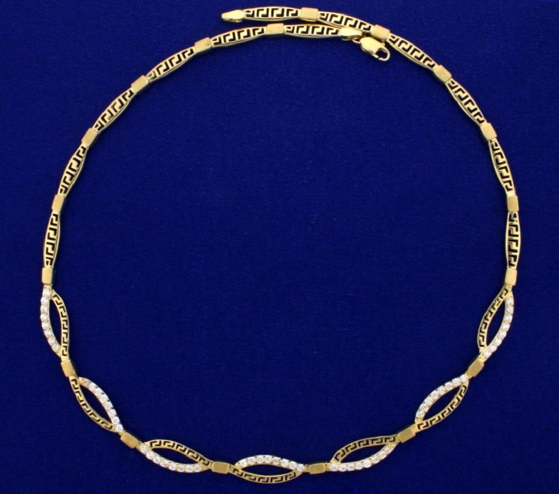 1.5 Carat Diamond Necklace