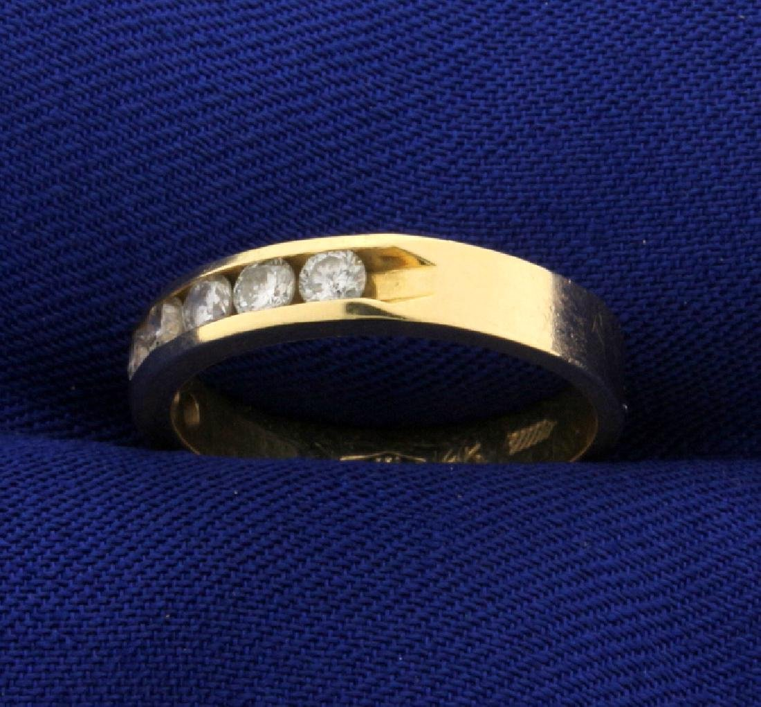 1/2ct TW Diamond Band Ring - 2