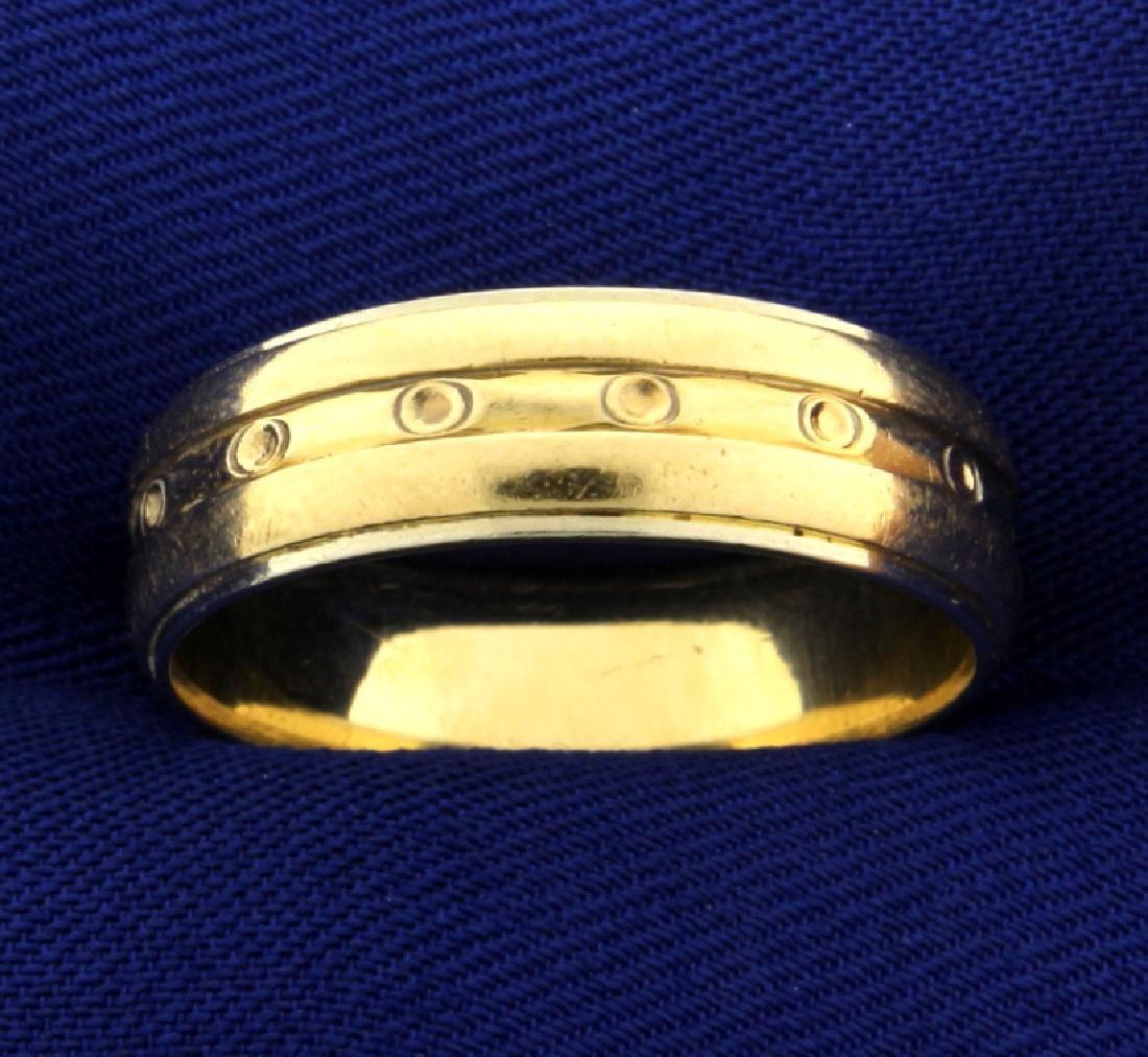 Unique Men's Wedding Band Ring