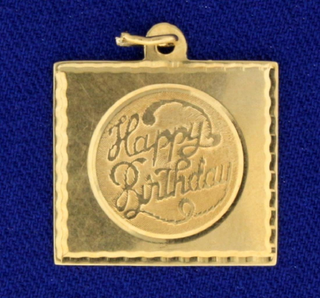 Happy Birthday Pendant
