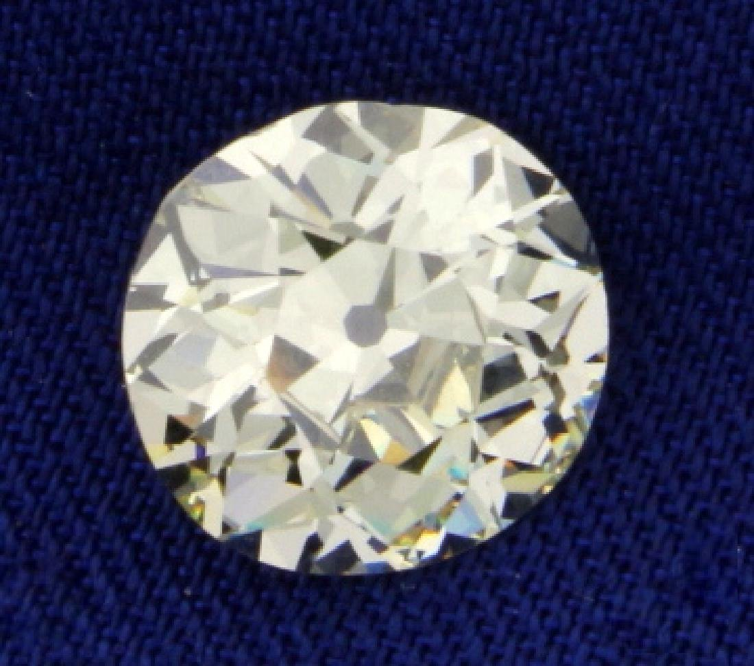 GIA Certified 2.84ct Old European Cut Diamond