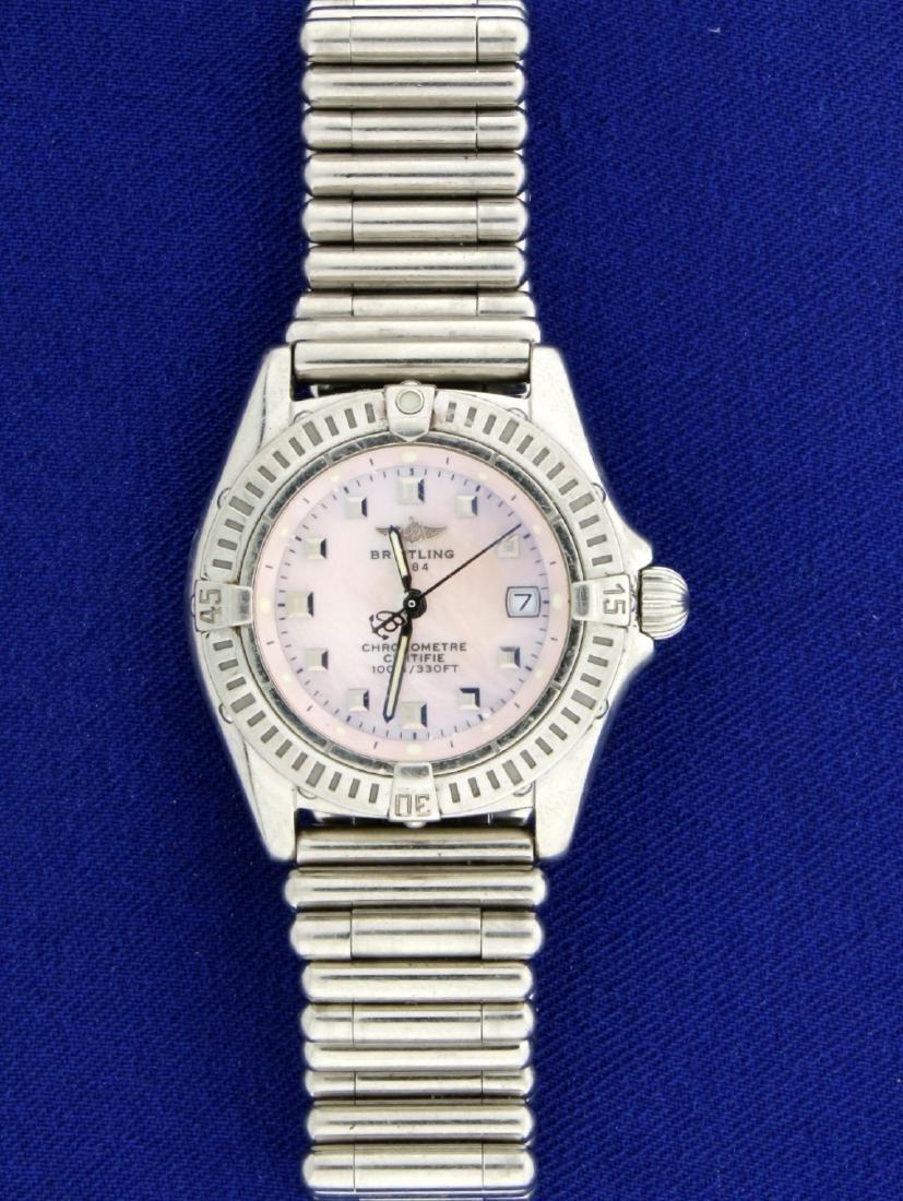 Ladies Breitling Callistino Watch Model A72345