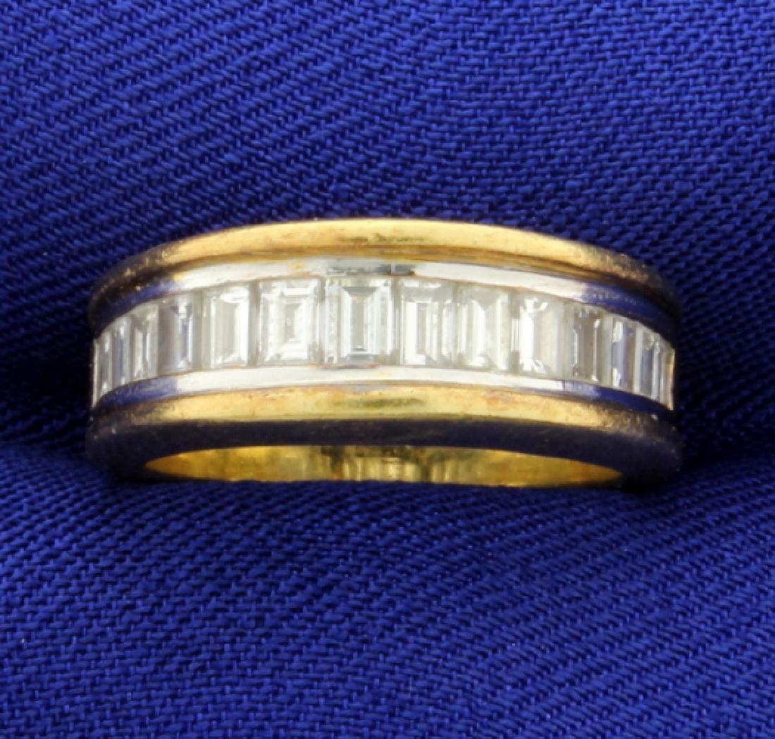 18k 1.5ct TW Diamond Band Ring