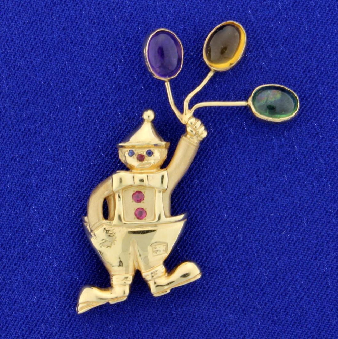 Clown Pin/Pendant