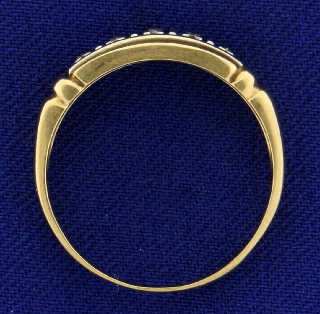 Vintage Diamond Band Ring - 3