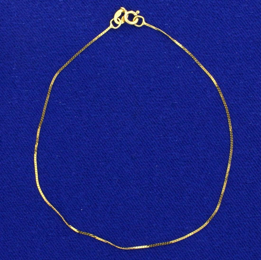 7 Inch S-Link Bracelet in 14K Yellow Gold