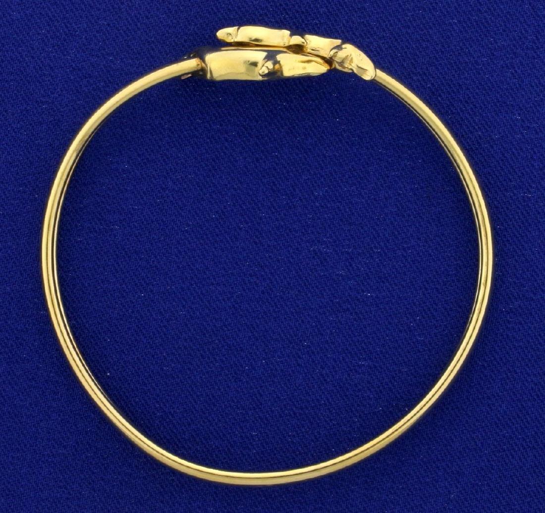 Dolphin Bangle Bracelet - 2