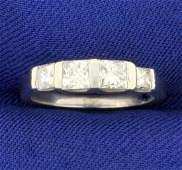 1ct TW Princess Cut Diamond Band Anniversary or Wedding