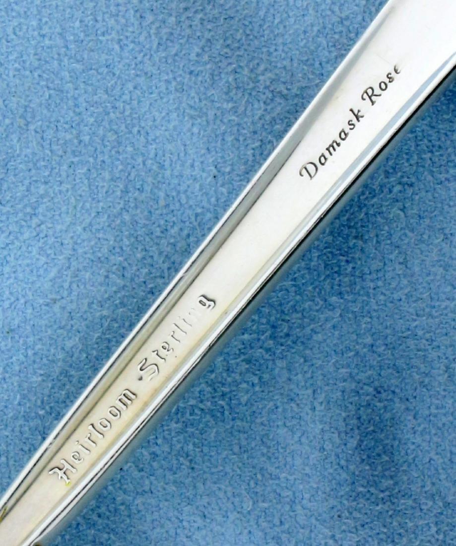 Oneida Damask Rose 52- Piece Sterling Silver Flatware - 4