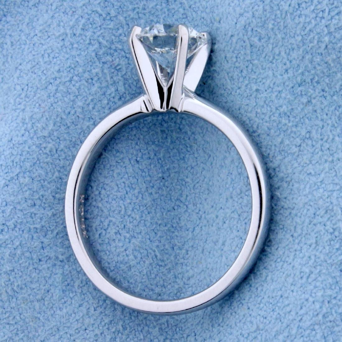 GIA Certified 1.2ct TW Diamond Solitaire Engagement - 3
