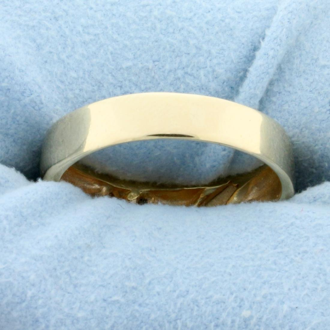 Men's Diamond Wedding or Anniversary Band Ring in 14K - 4