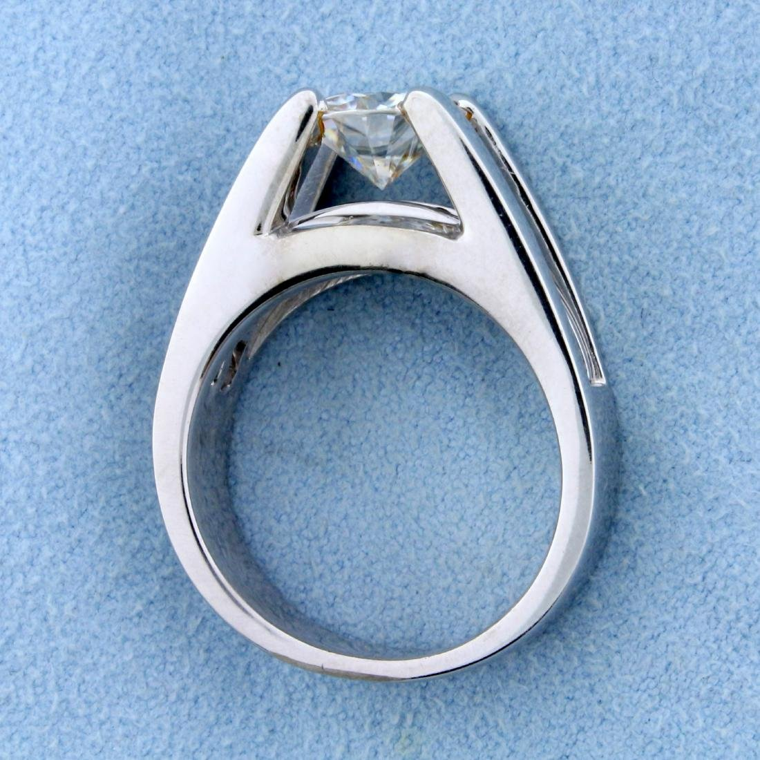Over 2ct TW Diamond Engagement Ring in 14k White Gold - 3