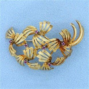 87855473f Vintage 18k Gold Brooches & Pins for Sale & Antique 18k Gold ...