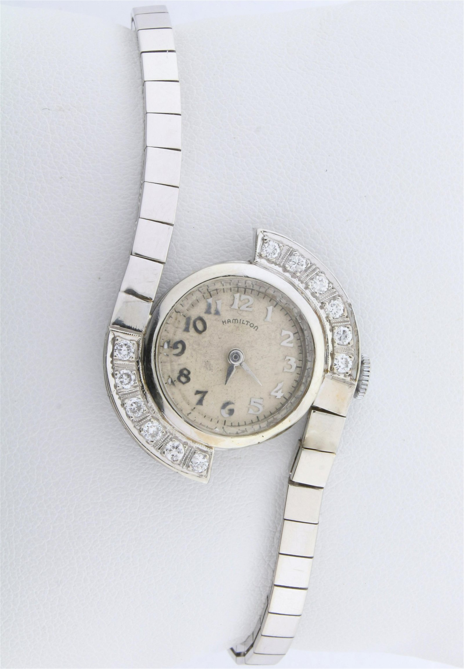 Vintage Hamilton Wind-Up Mechanical Watch in Solid 14K