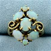 Vintage Opal Ring in 14K Yellow Gold