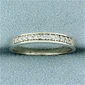 1/8ct TW Diamond Wedding or Anniversary Band Ring in