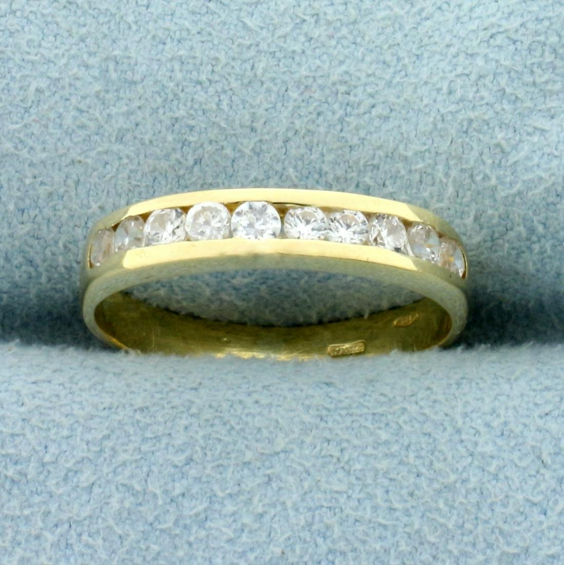 1/3ct TW Diamond Wedding or Anniversary Band Ring in