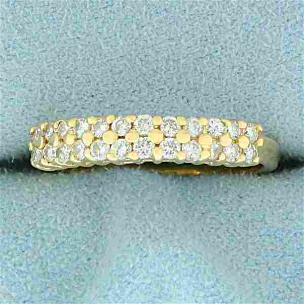 1/2ct TW Diamond Band Ring in 14K Yellow Gold