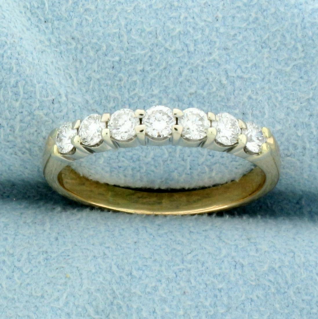 1/2ct TW Diamond Wedding or Anniversary Band Ring in