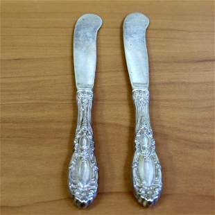 Towle King Richard Set of Two Hollow Handle Butter