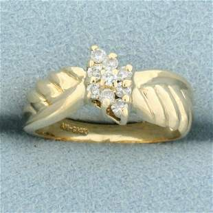 Vintage Diamond Ring in 14K Yellow Gold