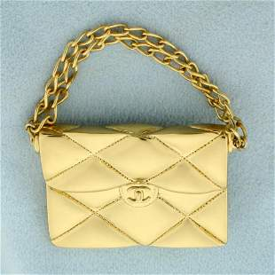 Rare Authentic Chanel Iconic 2.55 Quilted Flap Bag