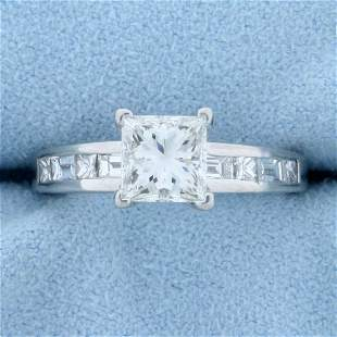 1.75ct TW Princess Cut Diamond Engagement Ring in