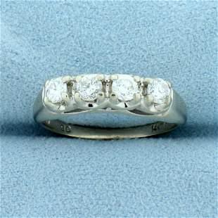 1/2ct TW Four-Stone Diamond Wedding or Anniversary Ring