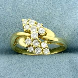 1/2ct TW Diamond Ring in 18K Yellow Gold