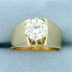 Almost 2ct Solitaire Diamond Ring in 14K Yellow Gold