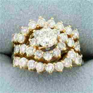 2ct TW Diamond Engagement Ring and Ring Jackets Bridal