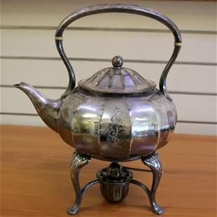 Vintage Tiffany & Co. Silver Teapot Kettle With