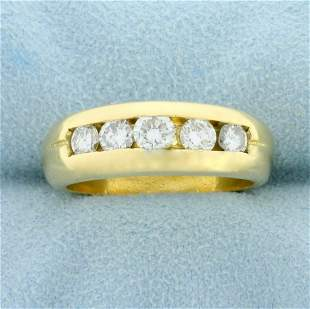 1ct TW Diamond Channel Set Anniversary or Wedding Ring