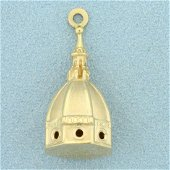 Florence Cathedral Pendant in 18K Yellow Gold