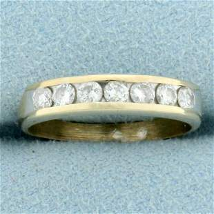 1/2ct TW Diamond Wedding Band Ring in 18K Yellow and