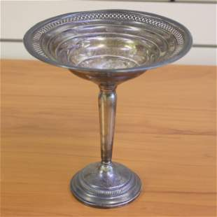Vintage Sterling Silver Candy Dish