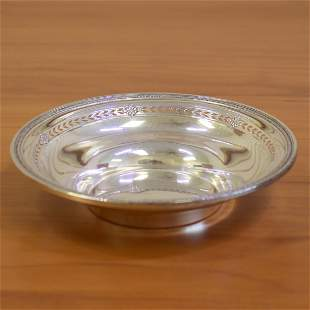 Sterling Silver Candy Dish Bowl