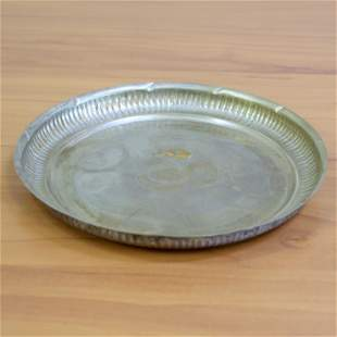 Antique Sterling Silver Cigar Ash Tray