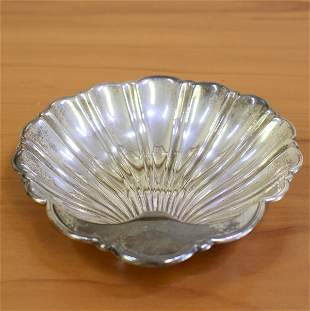 Gorham Sterling Silver Sea Shell Candy Dish