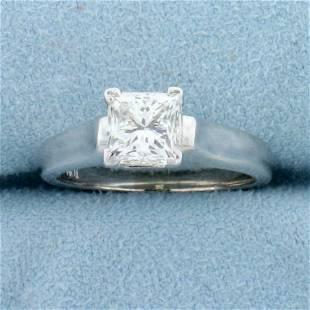 GIA Certified 1.5ct Princess Solitaire Diamond