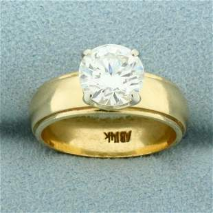Almost 2ct Diamond Solitaire Engagement Ring in 14K