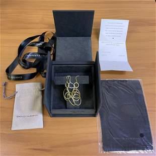 Authentic David Yurman Mobile Large Link Earrings in