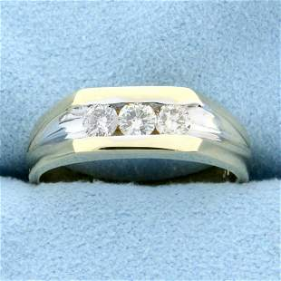 1/2ct TW Three-Stone Diamond Wedding or Anniversary