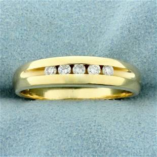 Men's 1/4ct TW Diamond Wedding or Anniversary Band Ring