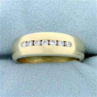 1/4ct TW Diamond Wedding or Anniversary Band Ring in