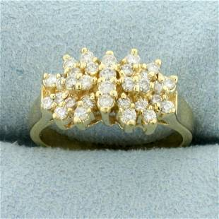 1ct TW Diamond Wedding Band Ring in 14K Yellow Gold
