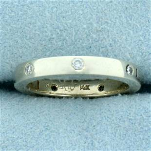 Diamond Band Ring That Opens in 14K Yellow Gold